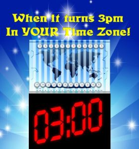 3pm timezone