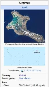 Kiritimati Christmas Island