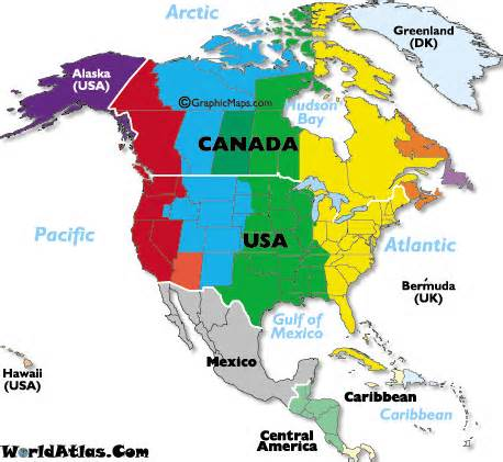 USA CANADA MEXICO What Songs Will You Sing Time Zone - Time zones usa